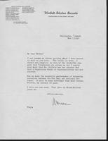 Warren R. Austin letter to Mrs. C.G. (Ann) Austin, November 7, 1940