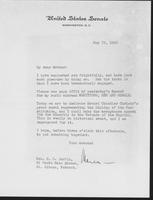 Letter to Mrs. C.G. (Ann) Austin, May 29, 1940