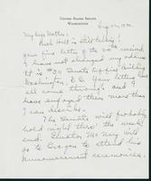 Letter to Mrs. C.G. (Ann) Austin, August 22, 1940