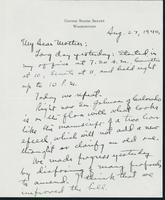 Letter to Mrs. C.G. (Ann) Austin, August 27, 1940