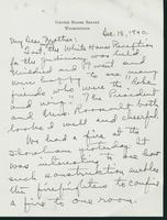 Warren R. Austin letter to Mrs. C.G. (Ann) Austin, December 18, 1940