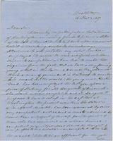 Letter from DANIEL KELLOGG to GEORGE PERKINS MARSH, dated                             December 16, 1857.