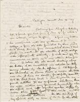 Letter from GEORGE PERKINS MARSH to ARNOLD HENRY GUYOT, dated                             November 16, 1857.
