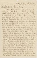 Letter from JOHN NORTON POMEROY to GEORGE PERKINS MARSH, dated                             March 23, 1870.