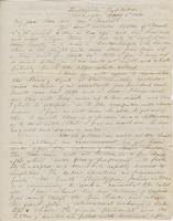 Letter from SPENCER FULLERTON BAIRD to GEORGE PERKINS MARSH and                             CAROLINE CRANE MARSH, dated May 2, 1852.