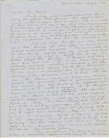 Letter from SPENCER FULLERTON BAIRD to GEORGE PERKINS MARSH,                             dated May 6, 1854.