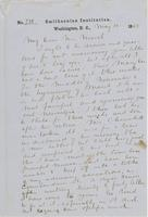 Letter from SPENCER FULLETON BAIRD to GEORGE PERKINS MARSH,                             dated May 10, 1862.