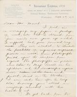 Letter from SPENCER FULLERTON BAIRD to GEORGE PERKINS MARSH,                             dated December 28, 1876.