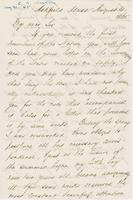 Letter from CHARLES ELIOT NORTON to GEORGE PERKINS MARSH, dated                             August 21, 1865.