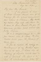 Letter from CHARLES ELIOT NORTON to GEORGE PERKINS MARSH, dated                             August 25, 1870.