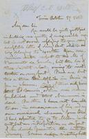 Letter from GEORGE PERKINS MARSH to CHARLES ELIOT NORTON, dated                             October 17, 1863.