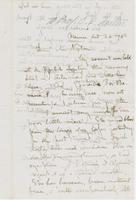 Letter from GEORGE PERKINS MARSH to CHARLES ELIOT NORTON, dated                             October 26, 1870.