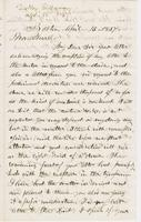 Letter from THOMAS WILLIAM SILLOWAY to GEORGE PERKINS MARSH,                             dated April 15, 1857.