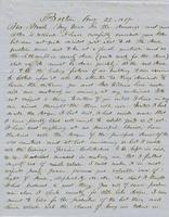 Letter from THOMAS WILLIAM SILLOWAY to GEORGE PERKINS MARSH,                             dated August 25, 1857.