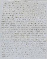 Letter from THOMAS WILLIAM SILLOWAY to GEORGE PERKINS MARSH,                             dated November 12, 1857.