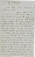 Letter from THOMAS WILLIAM SILLOWAY to GEORGE PERKINS MARSH,                             dated January 8, 1858.