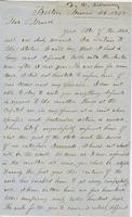 Letter from THOMAS WILLIAM SILLOWAY to GEORGE PERKINS MARSH,                             dated March 26, 1858.