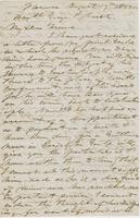 Letter from HIRAM POWERS to GEORGE PERKINS MARSH, dated August                             17, 1851.