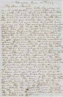 Letter from HIRAM POWERS to GEORGE PERKINS MARSH, dated June 18,                             1853.