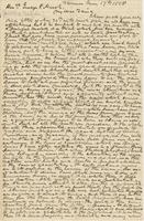 Letter from HIRAM POWERS to GEORGE PERKINS MARSH [with enclosure                             HIRAM POWERS to JAMES ALFRED PEARCE], dated June 17, 1858 [March 21,                             1858].