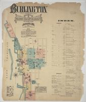 Burlington 1885, index