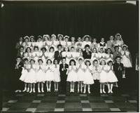 Mater Christi School (?) - First Communion (taken at Mt. St. Mary's)