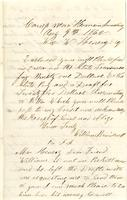 William Bruidnell and Francis Finnegan to William Wirt                         Henry