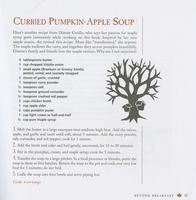 Curried pumpkin-apple soup