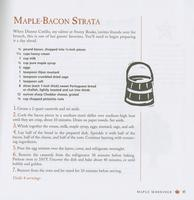 Maple-bacon strata