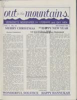 Out in the Mountains, December, 1986