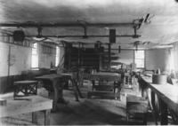 Interior of Dexter's Mill, South Newfane, Vt.