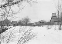 Winter landscape with farm buildings, Wardsboro, Vt.