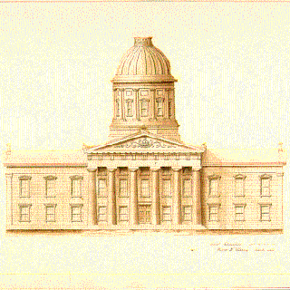 Rebuilding the Vermont State House (1857-1859)