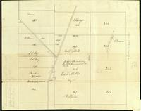 Burlington East Street, E. and T. Mills land, 1831