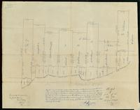 Bolton plan of part of the River Lots, 1839