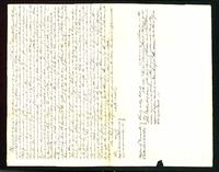 Town of Essex, Lease to James Everson, form of lease, 2 copies, 1835