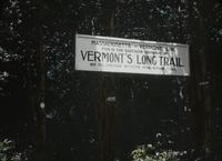 Sign marking the Massachusetts - Vermont line