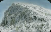 Mount Mansfield nose in winter