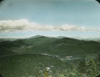 Bolton Mountain and Mount Mansfield from Camel's                              Hump