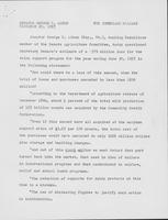 Dairy price supports - Keith Wallace Letter, 1958