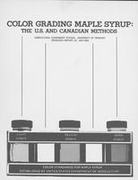 Color grading maple syrup