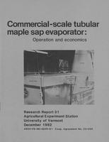 Commercial-scale tubular maple sap evaporator