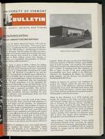 Bulletin of the University of Vermont vol. 61 no. 01