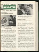 Bulletin of the University of Vermont vol. 63 no. 02