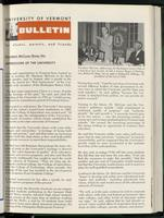 Bulletin of the University of Vermont vol. 63 no. 01