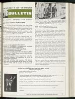 Bulletin of the University of Vermont vol. 63 no. 05
