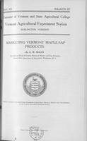 Marketing Vermont maple-sap products