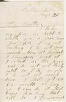 Andrew Craig Fletcher to Ruth Fletcher, no year August                        28