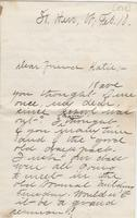 [Jennie Perry] to Katherine Fletcher, [1888] February 10