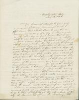 Letter to Mary Collamer, January 14 1844